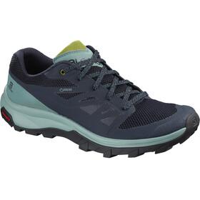 Salomon Outline GTX Shoes Women trellis/navy blazer/guacamole